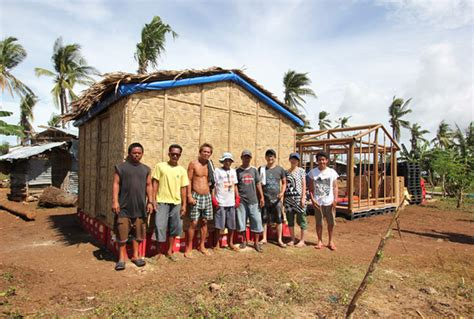 buro in philippines shigeru ban s inspiring paper houses for refugees in the
