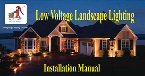 Low Voltage Landscape Lighting Installation Guide Landscape Lighting Installation Guide Best Home Design 2018
