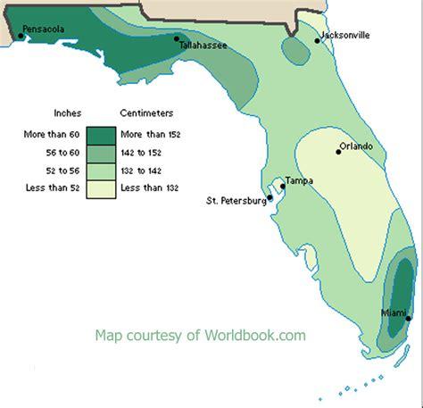 florida rainfall map why is florida so humid cloudman23