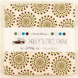 hollys tree farm  charm squares