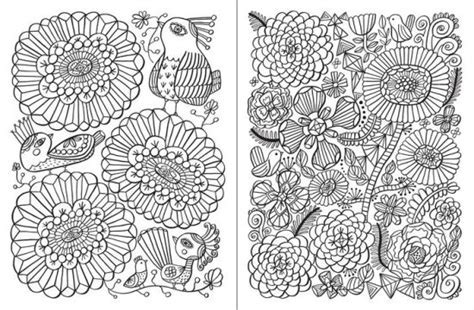 Posh Adult Coloring Book Happy Doodles For Fun