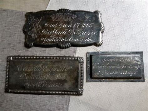 box haair plates 12 best casket plates images on pinterest casket