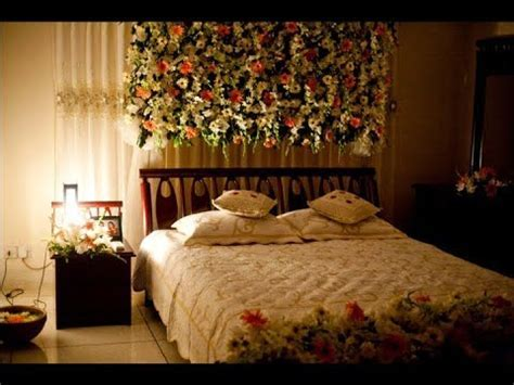 Wedding night room decoration ideas   Simple wedding room