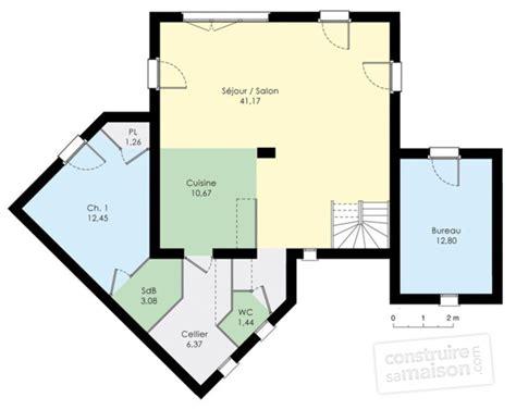 Plan Maison Contemporaine Gratuit 3077 by Maison Moderne D 233 Du Plan De Maison Moderne Faire