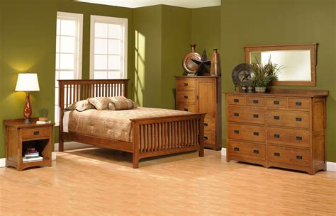 san juan mission style solid oak mission bedroom set