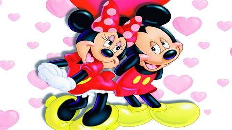 Mickey And Minnie L by Mickey Mouse And Minnie Mouse