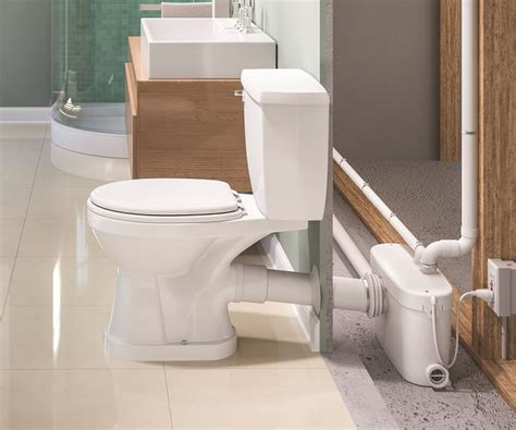 toilets with pumps for basements sanialarm