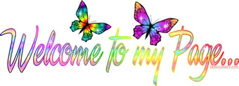 Welcome To My Page Animation | ᐅ top 55 welcome to my profile images greetings and