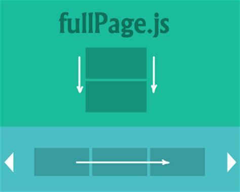tutorial one page website jquery fullpage js jquery plugin for fullscreen scrolling