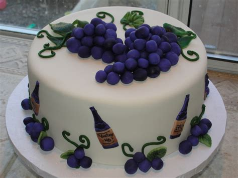 Home Decorating Magazine by Grape And Wine Themed Cakecentral Com