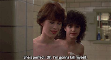 Sixteen Candles Shower by Gif Gifs Sixteen Candles Ducky Washroom