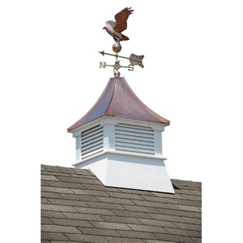 Weathervanes For Cupolas homeplace belvedere cupola with copper roof and weathervane reviews wayfair
