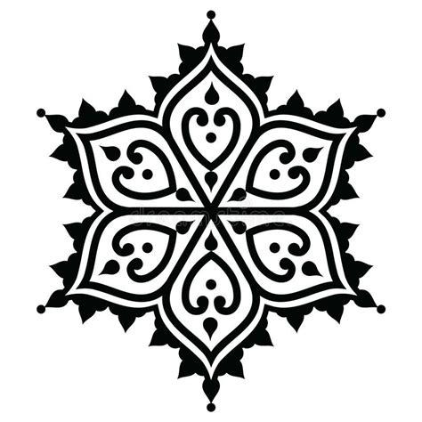 star shaped tattoos designs mehndi indian henna design shape stock