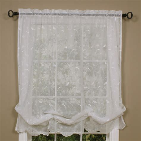 Balloon Curtains And Shades Commonwealth Home Fashions Hathaway Linen Tie Up Shade Reviews Wayfair