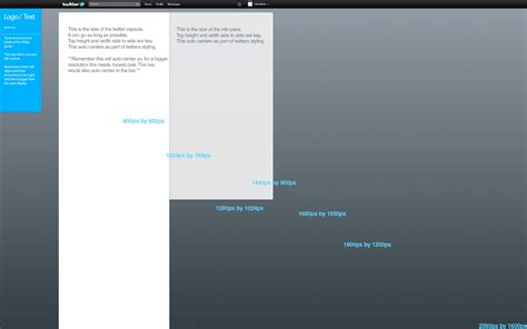 new twitter background template ontwerps