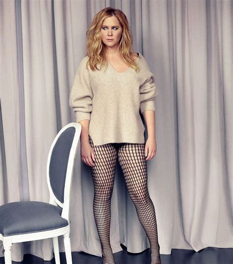 amy schumer sexy amy schumer rocks a sweater with no pants in her latest