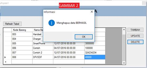 tutorial vb net mysql tutorial vb net cara membuat tombol delete database