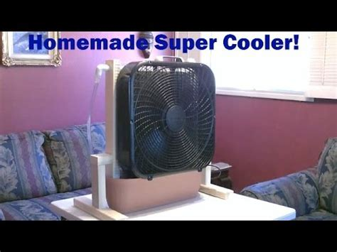how to make a room cooler homemade evaporative cooler quot whole room quot super cooler