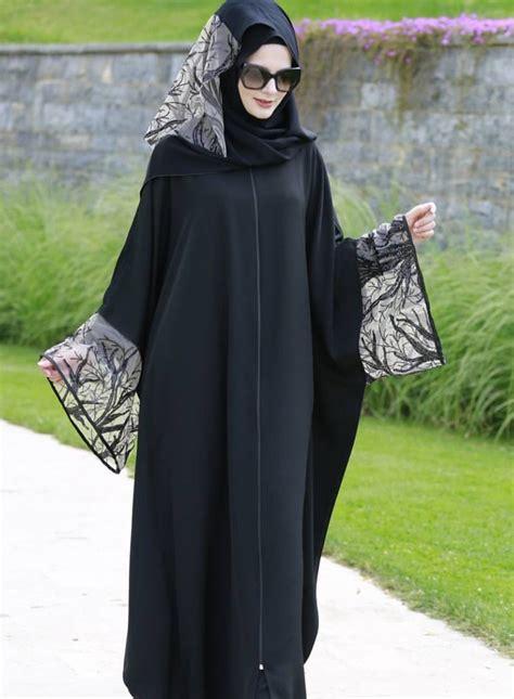 Abaya Kombi Satin by Gamis Pesta Abaya Termurah Model Gamis Pesta Brokat