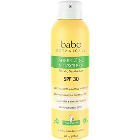 Non Merkuri Sunblock Spray Spf 30 Pratista sheer non nano zinc continous spray spf 30 fragrance free mineral sunscreen