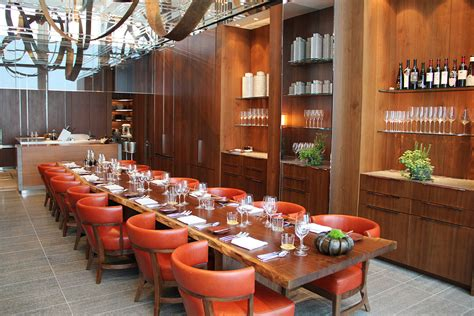 Dining Room Tables Wood Andaz Tokyo Toranomon Hills Cool Hunting