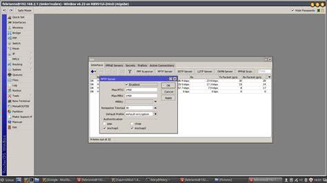 membuat vpn dengan mikrotik rb450g cara membuat vpn di mikrotik tutorial pelajaran tkj