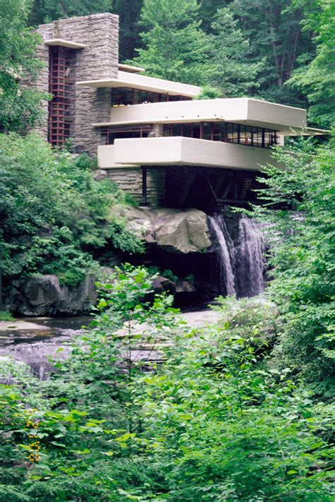 frank lloyd wright waterfall house tours large fallingwater photos traditional classic view frank lloyd wright house over