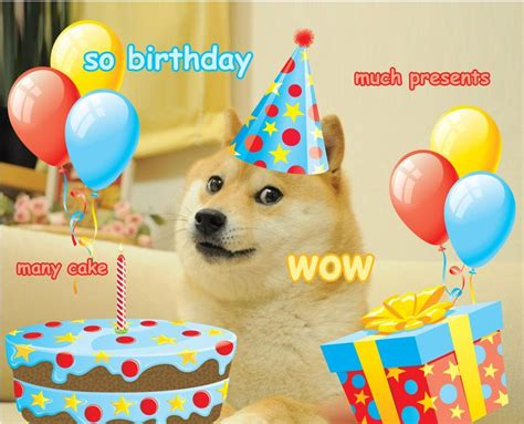 Birthday Card Meme - 24 best images about much doge so funny wow on