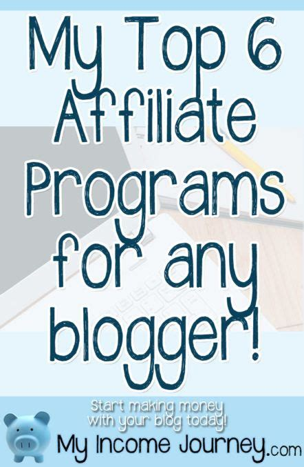 libro paid for my journey my top 6 affiliate programs for any blogger i use all 6 of these and know they can work for you