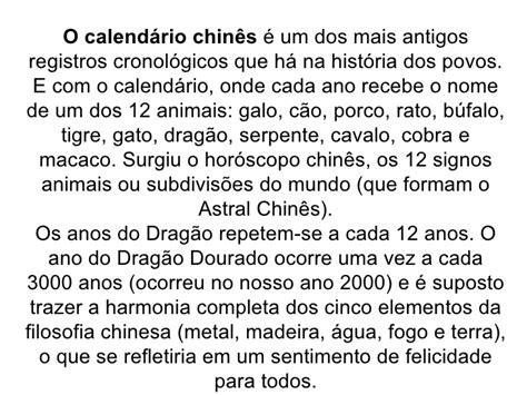 O Calendario Chines Calend 225 Rios E Hist 243 Ria