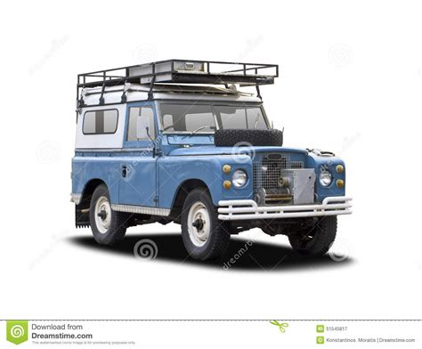 old white land rover old land rover on white stock photo image 51545817