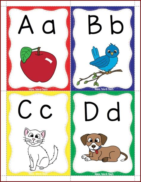 Alphabet Flash Cards For Ages 4 6 School Zone Flash Card free alphabet flashcards reading and writing