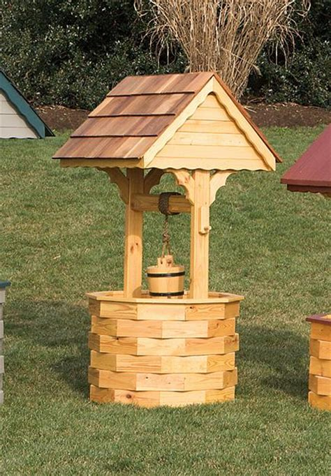 Landscape Timber Wishing Well Plans Landscape Timber Wishing Well Woodworking Plan Do