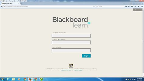 blackboard website library technology services