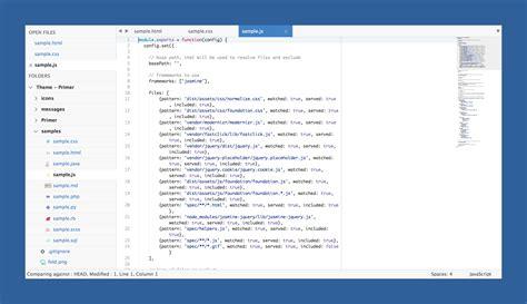 primer sublime text v2ex theme primer packages package control