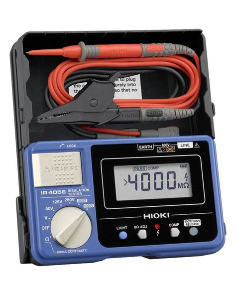Multitester Digital Hioki digital insulation tester megohmmeter ir4056 hioki