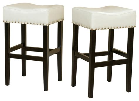 Ivory Bar Stools by Chantal Leather Stools Set Of 2 Ivory Bar Height