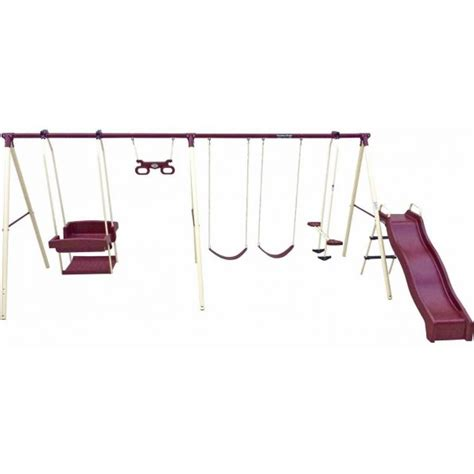 flexible flyer play park metal swing set 7 flexible flyer metal swing sets which is right for you