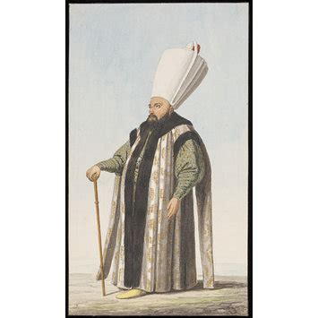 ottoman officials an ottoman official possibly a miri alem or leader of
