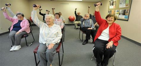 armchair aerobics for the elderly the benefits of chair exercises