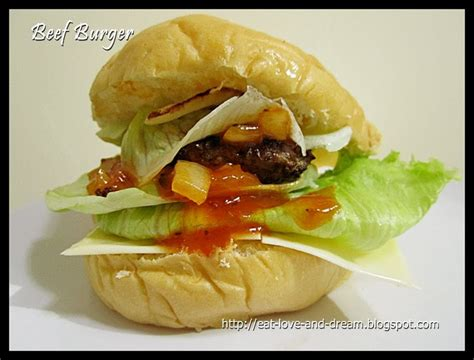 Teflon Burger eat and big beef burger