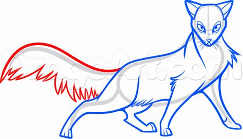 doodle how to make warrior how to draw a warrior cat step by car pictures drawing