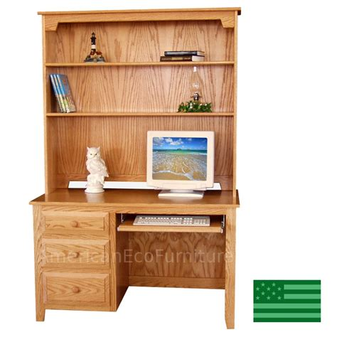 Student Computer Desk With Hutch Student Computer Desk With Hutch Amish Student Computer Desk With Optional Hutch Top Now Sale
