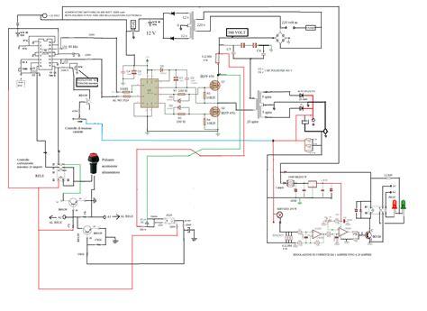 schema alimentatore switching alimentatore variabile switching 900 watt