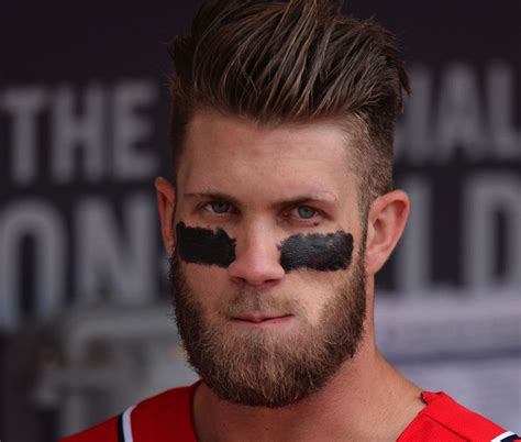 bryce harper hair style bryce harper hair n beard hair beard pinterest