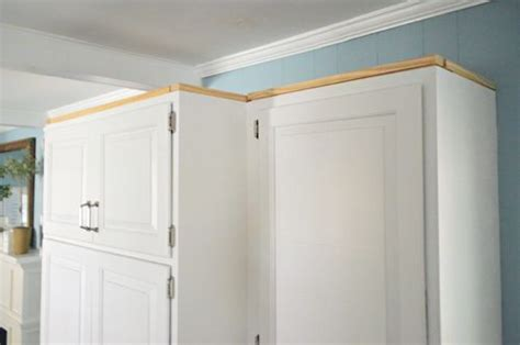 adding crown molding to ikea kitchen cabinets how to add crown molding to the top of your cabinets