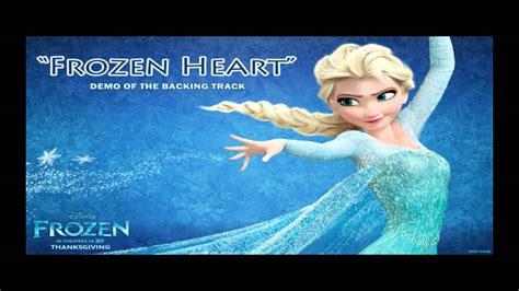 tattooed heart backing track frozen heart backing track karaoke instrumental frozen