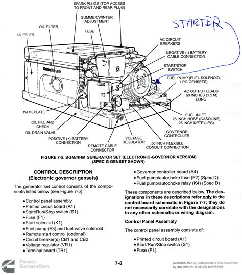 diagram generator onan marquis gold 5500 rv generator wiring diagram 50