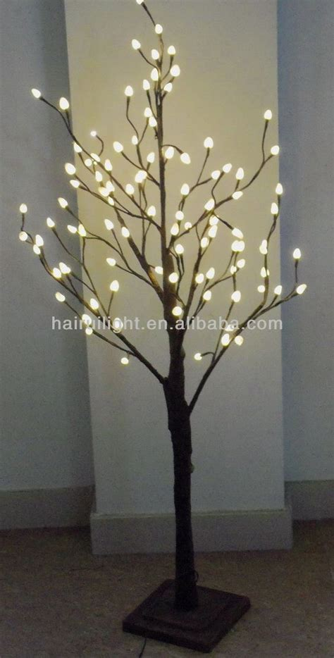 lighted trees for indoors 96l warm led willow led tree light baby eris