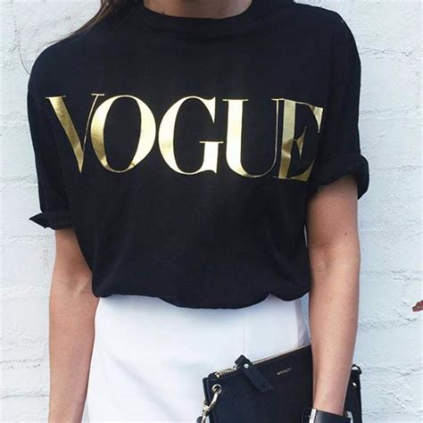 Fashion T Shirt Summer 2018 fashion summer t shirt vogue printed t shirt